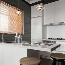 欧式二居厨房实景图片