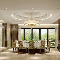 2018精选137平米现代别墅餐厅装修设计效果图