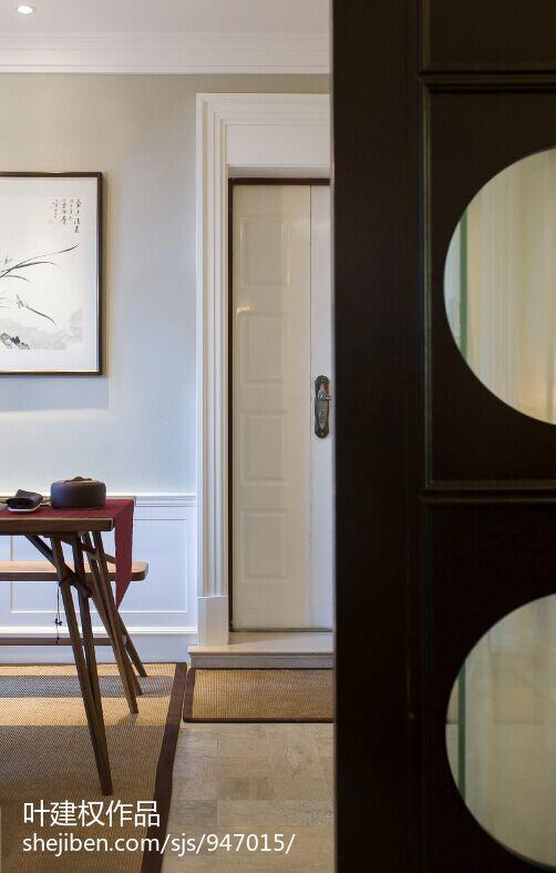 2018精选108平米三居休闲区美式装修设计效果图
