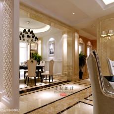 精选114平米四居餐厅欧式效果图片大全