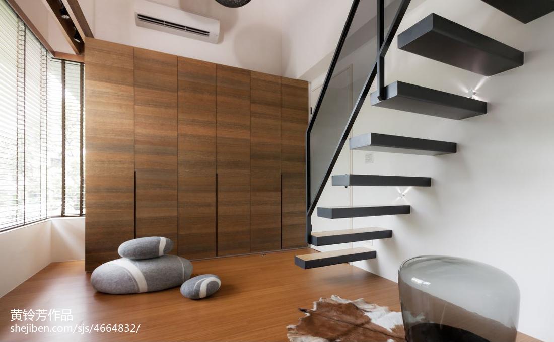 现代清新别墅楼梯装修效果图欣赏