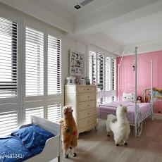 面积107平混搭三居儿童房效果图片大全