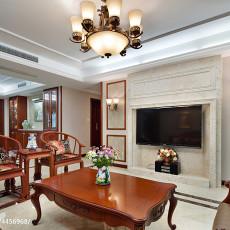 明亮140平欧式四居客厅装修图