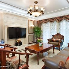 优雅200平欧式四居客厅效果图欣赏