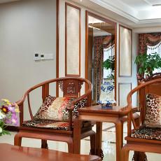 华丽148平欧式四居客厅设计效果图