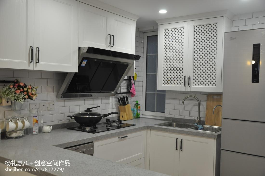 遇见美的欧式格调厨房效果图