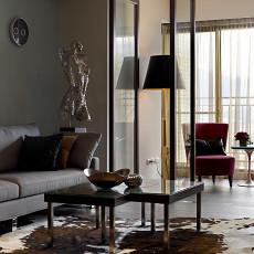 精选面积122平现代四居客厅效果图片欣赏