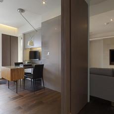 热门118平米四居书房现代装饰图片