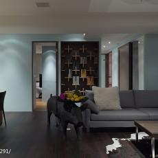 2018精选134平米四居客厅现代装修设计效果图片大全