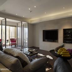 精选面积110平现代四居客厅装修图片