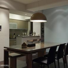 2018144平米四居餐厅现代装修图片欣赏