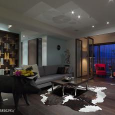 精选136平米四居客厅现代装修设计效果图片