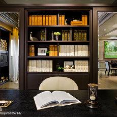 103平米三居书房混搭实景图
