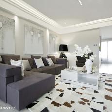 精美四居客厅现代效果图片