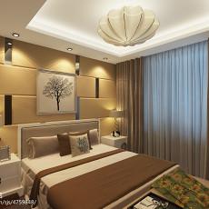 99平米三居卧室现代装修实景图片