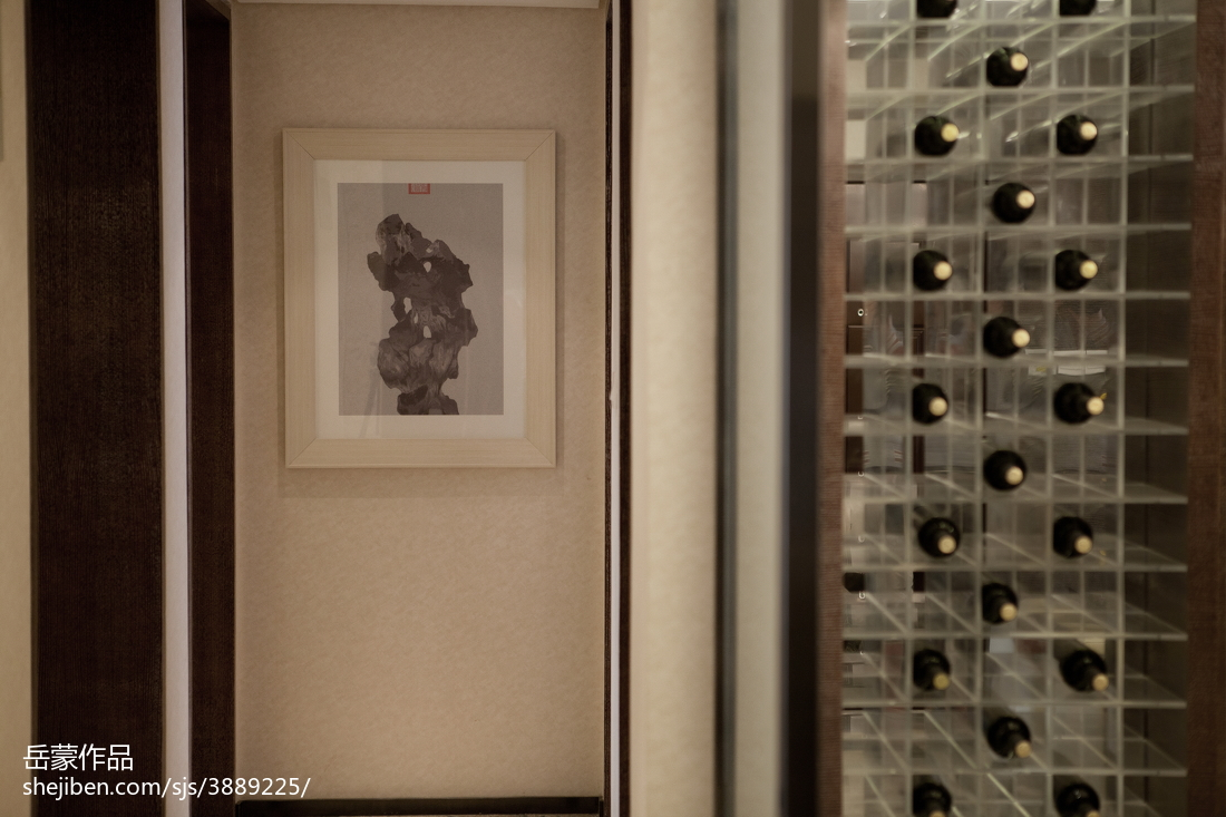 精美面积137平别墅休闲区中式效果图片大全