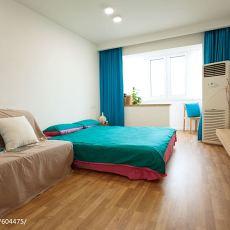 热门面积72平现代二居卧室装修欣赏图片大全