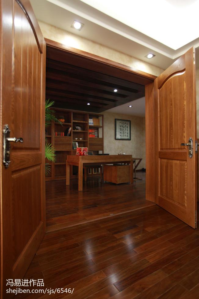热门131平米东南亚复式书房装修设计效果图片大全