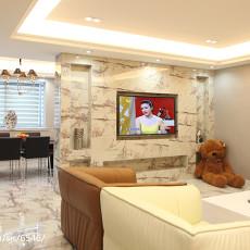 2018精选86平米二居客厅现代装修图片欣赏