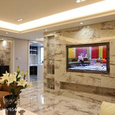 精美面积83平现代二居客厅实景图