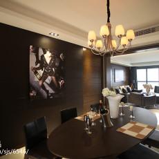 精美102平米三居餐厅现代效果图片