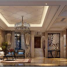精选面积140平别墅客厅欧式装修效果图片