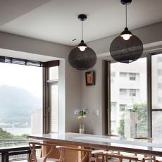 精选109平米三居餐厅现代欣赏图