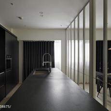 热门96平米三居厨房混搭装修效果图片大全