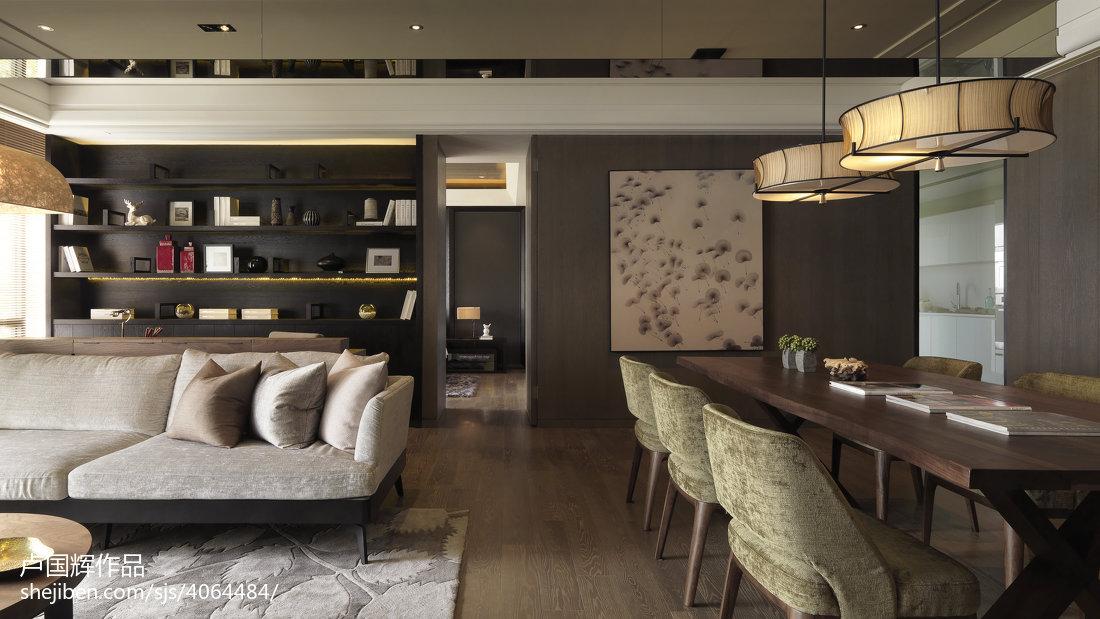 2018大小78平混搭二居客厅装修效果图