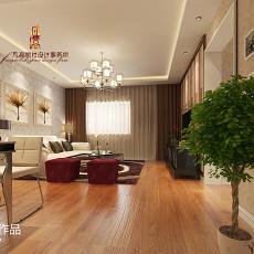 热门109平方三居客厅现代效果图片欣赏