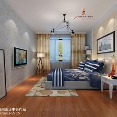 现代三居卧室装修设计效果图