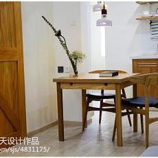 热门77平米现代小户型餐厅装修设计效果图片