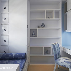 精选115平米四居儿童房中式实景图片