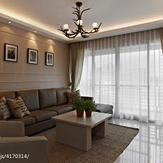 精美大小142平现代四居客厅装修设计效果图片大全