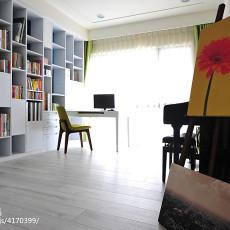 精选143平米四居书房混搭装修实景图