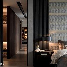 2018精选80平米二居卧室混搭装修设计效果图片欣赏