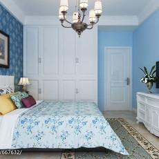 地中海风格卧室设计图片2014