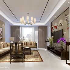 三居客厅中式欣赏图片
