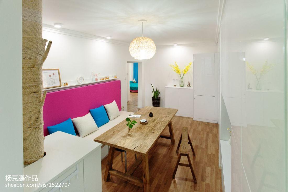 201877平方二居客厅现代装修实景图