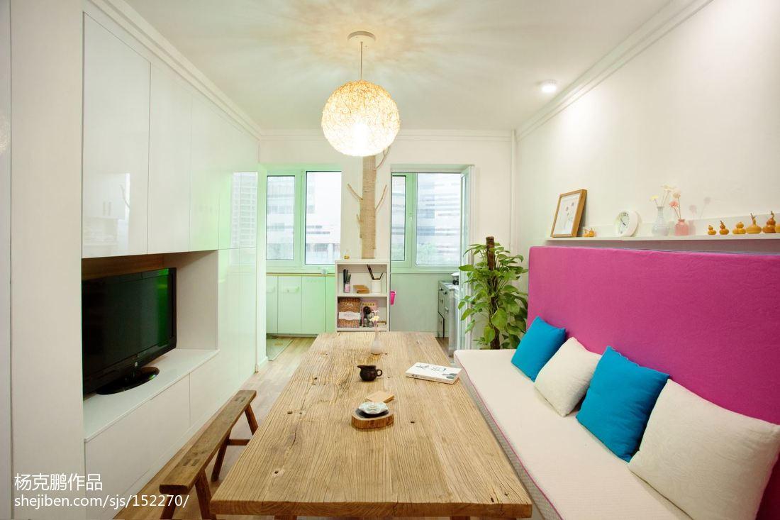 精美面积73平现代二居餐厅装修欣赏图片