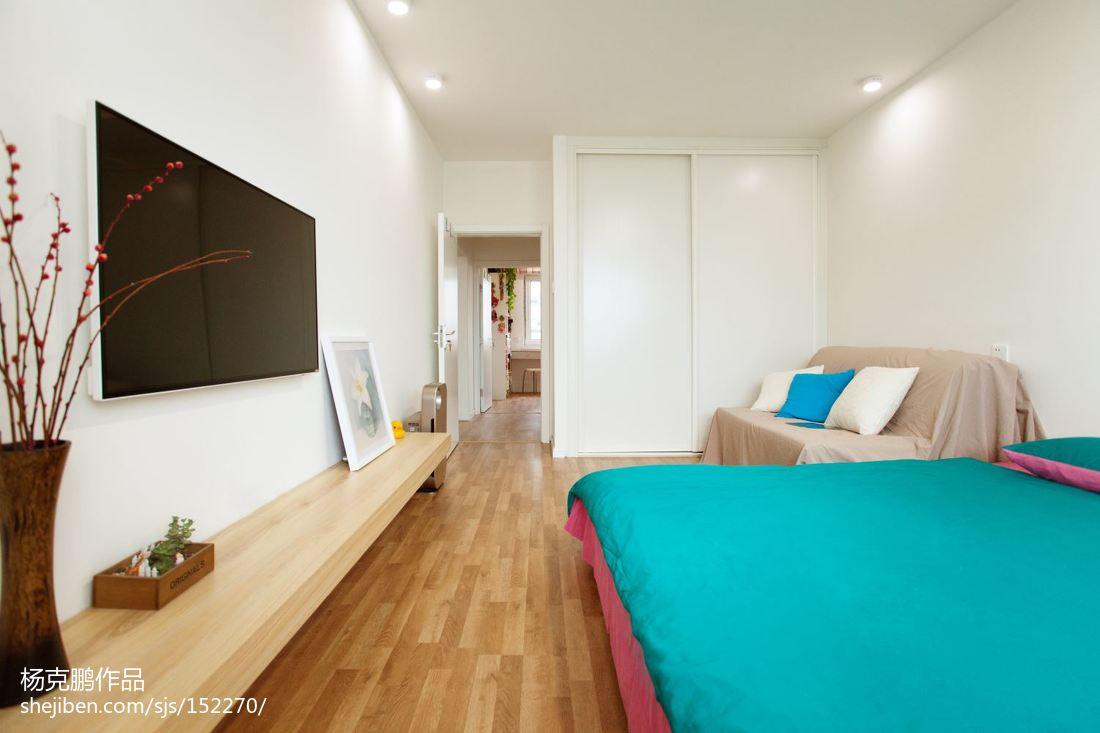73平米二居卧室现代效果图片