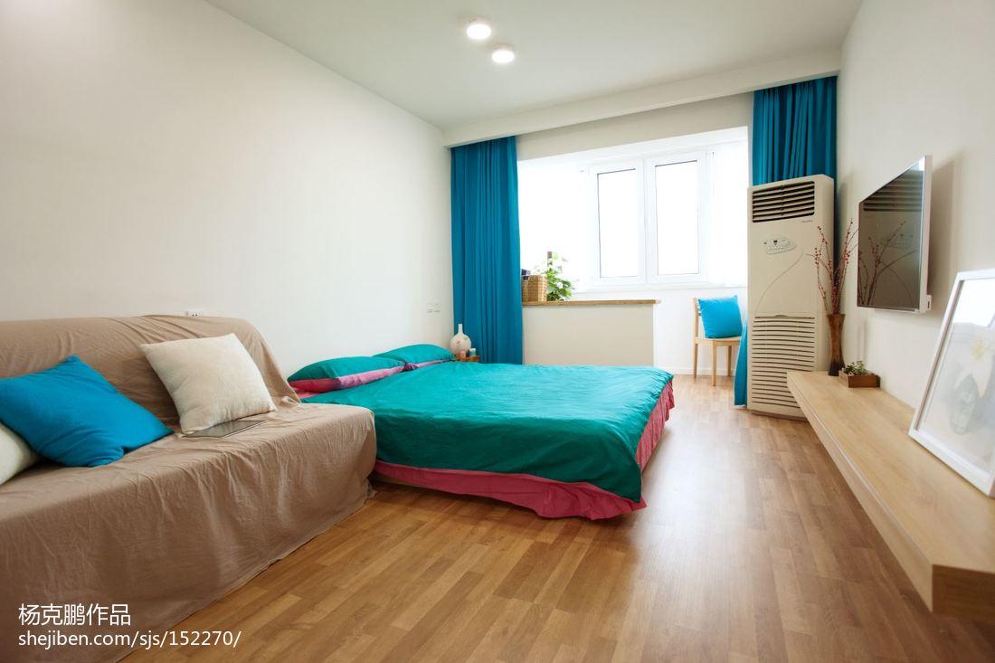 75平方二居卧室现代装修效果图片大全