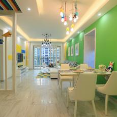 大气78平现代三居餐厅装饰美图