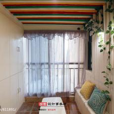 浪漫96平现代三居玄关设计美图