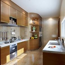 精选面积104平欧式三居厨房设计效果图