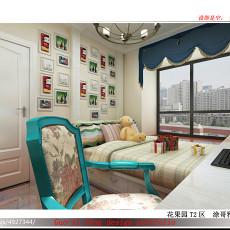 热门二居书房美式设计效果图