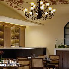 东南亚装修设计客厅效果图2015