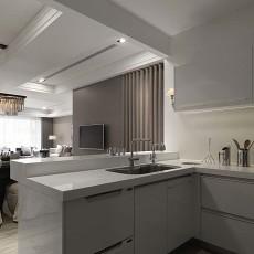 精选109平米三居厨房现代效果图片