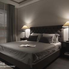 热门大小92平现代三居卧室装饰图片大全