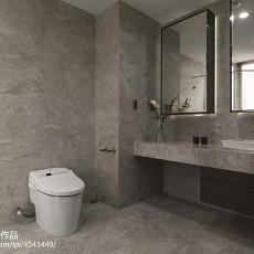 2018现代三居卫生间装饰图片欣赏